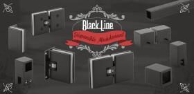 NOUVEAUTE - Gamme de ferrement pour douche BLACKLINE By Fonsegrive