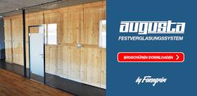 AUGUSTA - Neue Broschüre Festverglasungssystem