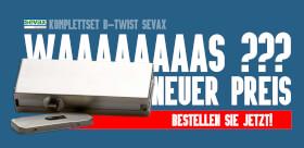 AAAAAAAAS ? Kit B-Twist SEVAX, mit Hydraulik-Eckbeschlag Nueu Preis