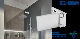 Neues Duschtürscharnier von KL Megla Class