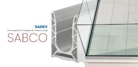 Brüstungsprofil für Glasgeländer SADEV SABCO