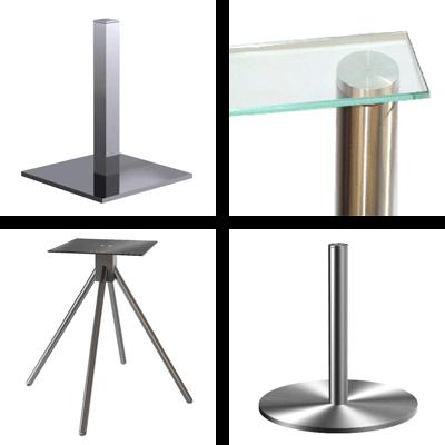 Table bases & racks
