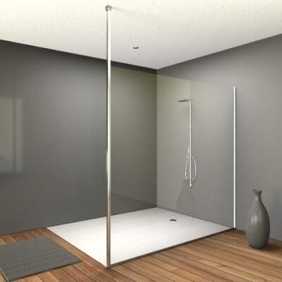 Profils sol plafond pour douches