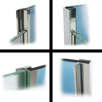 Glass rebate profiles
