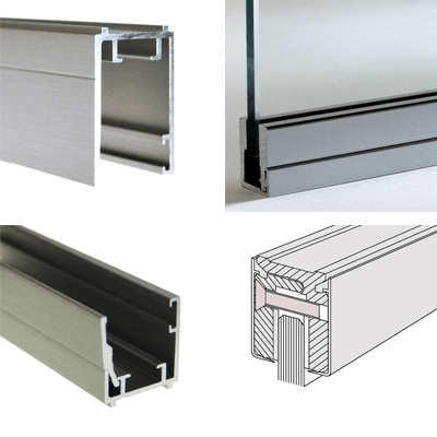 Profiles for fixed glazing
