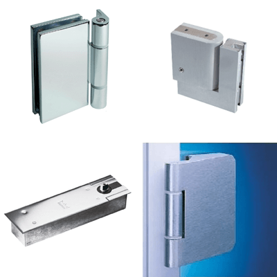 Revolving door fittings