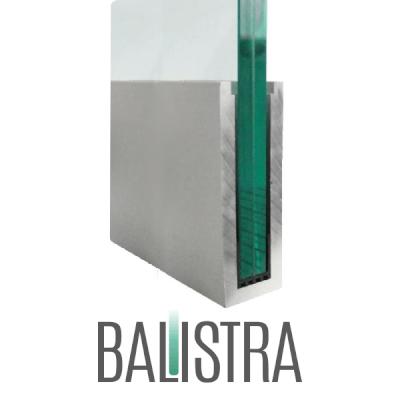 Brüstungsprofil BALISTRA U162