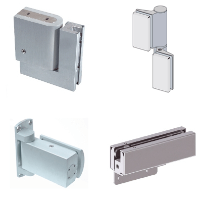 Hydraulic fittings for revolving doors