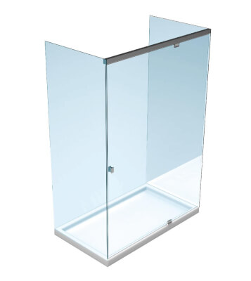 Hydraulic shower door systems Slash