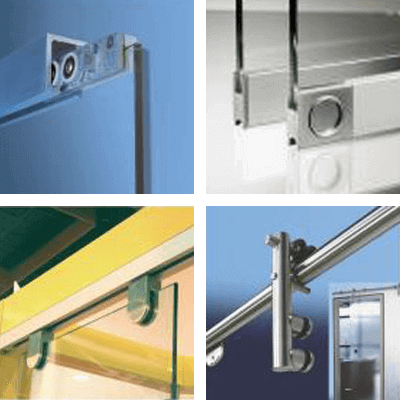 Sliding doors sorted by mounting situations