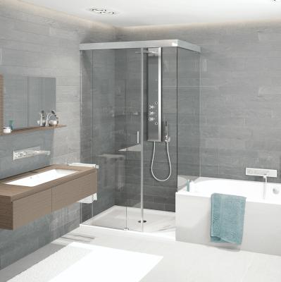 Systèmes de porte coulissante pour douches gral SF 740 PREMIUM