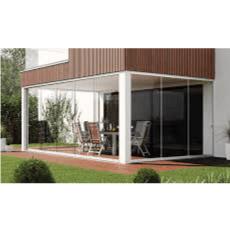 Balkon- und Terrassenverglasungen Atrivant 80