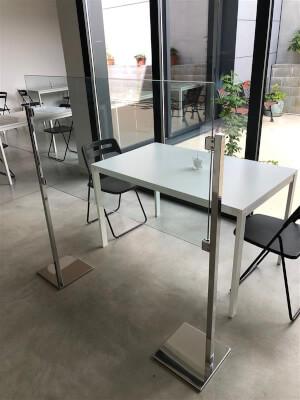 Tischabtrennung / Spuckschutz