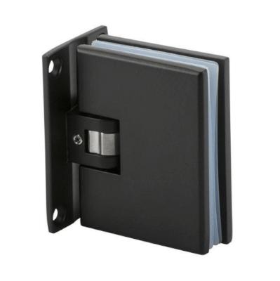 Shower hinges and glass connectors Blackline Standard