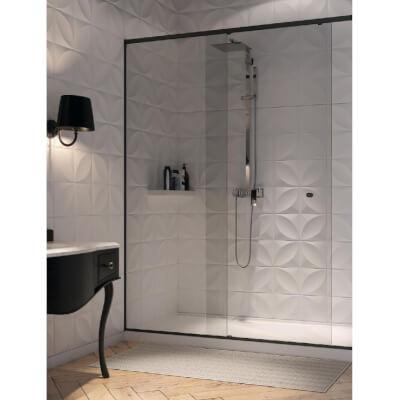 Sliding door systems for showers METALGLAS