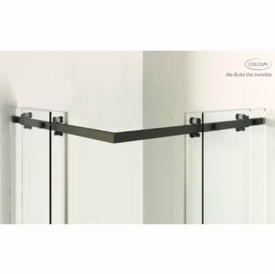 Sliding door systems for showers Blackline Standard
