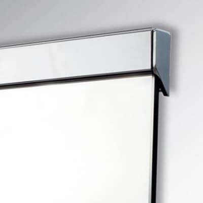 Mirror aluminium profiles