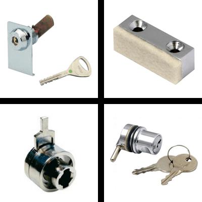 Display case locks