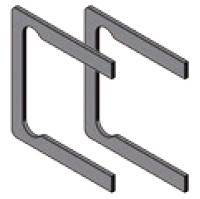 Zwischeneinlagen für 10 mm Glas für BF 112
