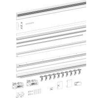 MUTO Comfort M 60 Schiebetürset, Flügeltürbreite max. 1300 mm, mit Glas-Seitenteil, ein- und beidseitig