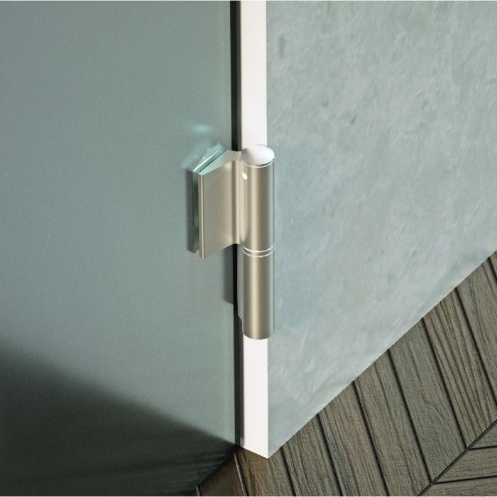 charni re hydraulique biloba evo evo frame avec ferme. Black Bedroom Furniture Sets. Home Design Ideas