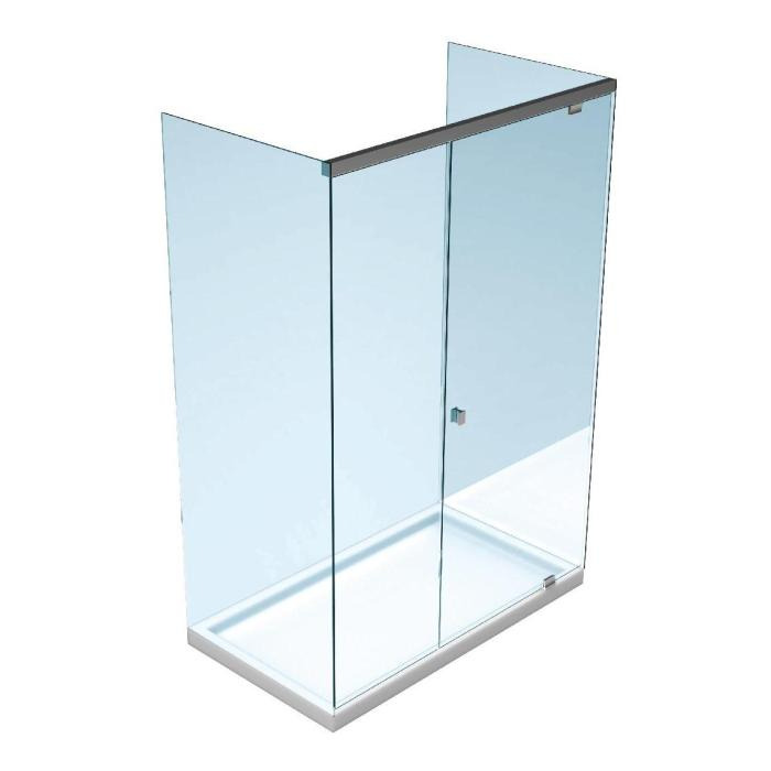 dusche komplett set walk in duschwand glaswand cm als komplettset inkl cm with dusche komplett. Black Bedroom Furniture Sets. Home Design Ideas