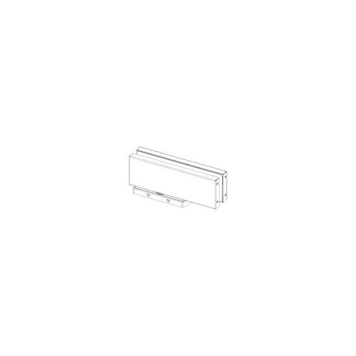 hydraulikscharnier unica outdoor bodenmontage mit bodenplatte ohne bohrung. Black Bedroom Furniture Sets. Home Design Ideas