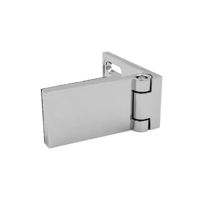 Duschtürscharnier Classtec CL mit Langlochplatte